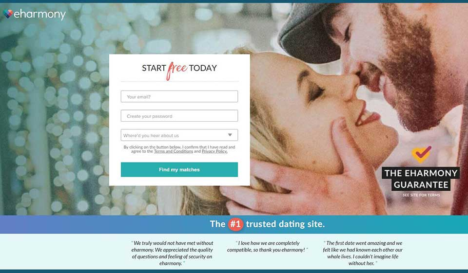 eHarmony Review: Tested and Legit Sites to Find Friends & Soul Mates